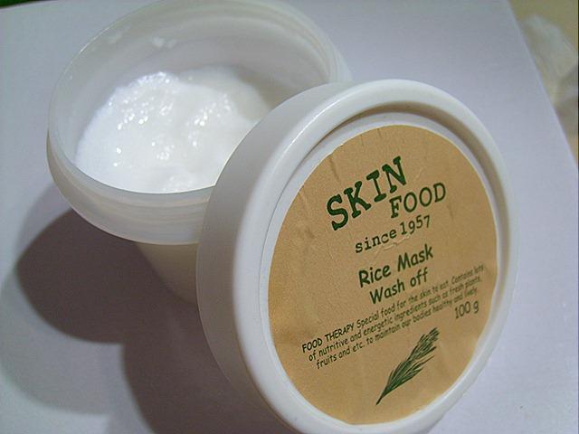 [Review] SkinFood Rice Mask Wash Off | toki wo tomete 時を止めて